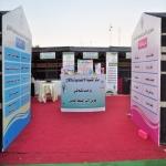 بالصور : مركز تنمية الأفلاج يفتتح معرض الأسر المنتجة بخمية التسوق في الأفلاج