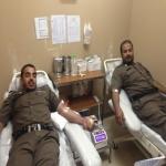 """مستشفى الأفلاج ينظم حملة للتبرع بالدم تحت شعار """" وطننا أمانة"""