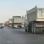 أهالي الوسيطى يناشدون مدير المرور من تهور الشاحنات