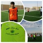 انطلاق دوري كرة القدم بثانوية اﻷحمر برعاية مركز مصادر التعلم