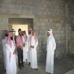 آل حسين يتفقد المشاريع التعليمية بالأفلاج