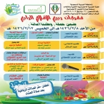 لجنة التنمية بالأفلاج تعلن عن إقامة مهرجان ربيع الأفلاج الاجتماعي الرابع