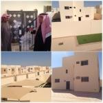 محافظ الأفلاج يقف على مشروع بناء 127 وحدة سكنية جديدة