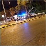 الجاني مصابآ والجهات الأمنيه لاتزال تطوق المستشفى