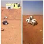 مصرع عاملين من بلدية البديع على طريق الهدار