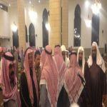 محافظ الأفلاج ومدير الشرطة يؤدون صلاة الغائب على الفقيد الملك عبدالله