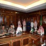 ولي ولي العهد يؤكد أهمية تعزيز الإجراءات الأمنية على حدود المملكة