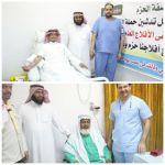 بحضور آل حسين تعليم اﻷفلاج يدشن حملة التبرع بالدم
