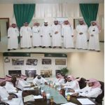 مشرف فروع جمعية إنسان ومدير التخطيط والتطوير يزوران جمعية إنسان بالأفلاج