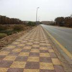 بلدية الأفلاج تنفذ مشاريع تحسين مداخل القرى
