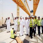وزير النقل يتفقد عدداً من مشروعات الطرق بمنطقة الرياض
