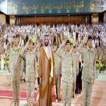 ولي ولي العهد رعى حفل تخريج كوكبة جديدة من أشبال كلية الملك عبدالعزيز الحربية