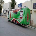 وصول سيارة متنقلة لبنك الدم تشارك في مهرجان الأفلاج الاجتماعي الخامس