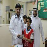 """بالصور مدرسة نادي الحي تخص """"صحيفة الأفلاج """" عن تقريرها لشهر رمضان المبارك"""
