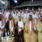 بالصور الشاعر شافي بن راشد النتيفات يحتفل بزواج شقيقه ناصر