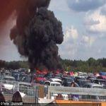 بالصور.. 4 قتلى بتحطُّم طائرة خاصة في بريطانيا يُتوقَّع أن مالكها سعودي