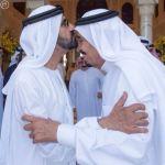 بالصور.. خادم الحرمين يستقبل نائب رئيس دولة الإمارات وولي عهد أبوظبي