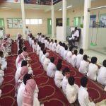 بالصور : حملة توعوية لطلاب وطالبات محافظة الأفلاج عن «كورونا»