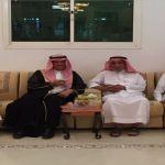 محافظ الأفلاج ينقل تعازي أمير الرياض للعجالين