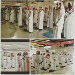 طلاب ثانوية الأحمر يسجلون حضورا مشرفا ومميزا آخر أيام الدراسة قبل إجازة الحج