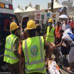 بالصور  الدفاع المدني: 717 وفاة و 863 إصابة في حادثة تدافع في منى  .  (تحديث) جديد