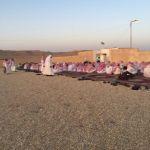 أهالي ستارة يؤدون صلاة العيد
