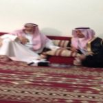 محافظ الأفلاج ورئيس المحاكم ورئيس البلدية يعزون آل لحيان
