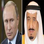 بوتين يهاتف خادم الحرمين لإطلاعه على نتائج زيارة بشار الأسد إلى موسكو