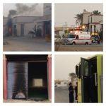 التماس كهرباء يتسبب في احتراق عداد مدرسة أهلية في الأفلاج