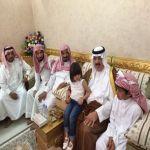 وزير الحرس الوطني يعزي أسرة الصخابرة