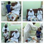 مركز صحي ليلى ينظم حملة التطعيم في مدارس المحافظة