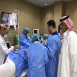 مستشفى الأفلاج العام يحارب السمنة المفرطة بإجراء تركيب بلون في المعدة لنقص الوزن