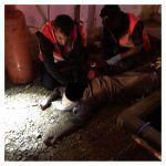 مدني الأفلاج ينتشل جثة من خزان مياه جنوب الأفلاج