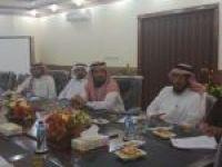 اجتماع لجنة التنمية الاجتماعية الأهلية في محافظة الأفلاج