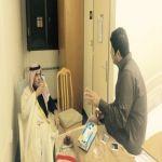 وكيل محافظة الأفلاج يطمئن على صحة مدير المستشفى