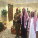 العقيد أديب الحميضي مديرآ لشعبة أمن المحاكم الشرعية بالرياض