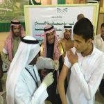 محافظ الأفلاج يدشن الحملة الوطنية للتطعيم ضد الحصبة والحصبة الألمانية والنكاف في المدارس