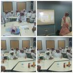 الأستاذ خالد المحيميد يقدم برنامجاً تدريبياً لطلاب ثانوية اﻷحمر