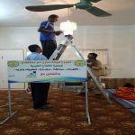 مهني الأفلاج والجمعية الخيرية يرممان منازل المستفيدين