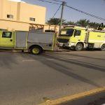 حريق بأحد المنازل على طريق الملك سلمان بن عبدالعزيز  ولا إصابات