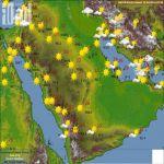 """الأرصاد"""" : سماء غائمة على الأجزاء الجنوبية الشرقية والمرتفعات الجنوبية للمملكة"""