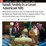 """""""فورين بوليسي"""": السعودية حليف عظيم وأمريكا بحاجة لها أكثر من أي وقت.. لقد جعلونا في مأمن"""