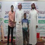 بالصور : لجنة تنمية السيح تفتتح الخيمة الرمضانية للعام1437هـ