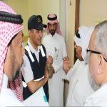 نائب وزير الصحة يزور مستشفى الأفلاج ويعقد اجتماع مع مدير المستشفى ومساعديه