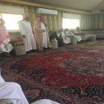 محافظ الأفلاج يعزي رئيس مركز الطوال في وفاة والده