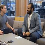 """""""ولي ولي العهد"""" يزور """"فيسبوك"""" ويلتقي مؤسسها ورئيسها التنفيذي"""
