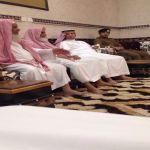 مدير مرور منطقة الرياض في زيارة للهدار لتعزية أسرة آل درعان