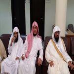 الشيخ الدكتور مبارك الزايد يستقبل المهنئين بالعيد
