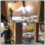 حريق محدود داخل مستشفى الأفلاج ولا إصابات