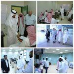 المشرف على كليات الجامعة في محافظة الأفلاج يقوم بزيارة تفقدية لقاعات التدريس